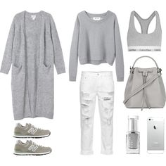 Cozy Sunday by fashionlandscape on Polyvore featuring Mode, Monki, Acne Studios, Calvin Klein Underwear, New Balance, Topshop and Leighton Denny