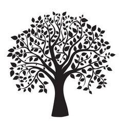 Trendy tree of life clipart clip art Oak Tree Silhouette, Tree Silhouette Tattoo, Tree Of Life Images, Tree Images, Trendy Tree, Tree Wall Art, Tree Art, Tree Of Life Art, Tree Outline