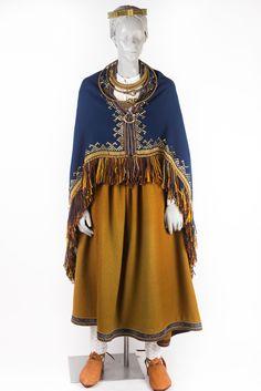 Arheoloģiskais latgaļu meitas/sievas tērps — Katram Savu Tautastērpu