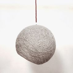 "Semisphere - Lámpara esfera gris - lámpara de techo moderna - lámpara globo - lámpara de diseño (14 ""-35 cm) de Geometrikdesign en Etsy"