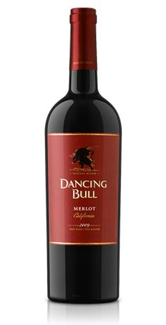A lighter Merlot, coy and slightly on the sweet side.  Paired nicely with salad and some Pad Thai noodle soup.  I'm sure the makers were not thinking pho when they bottled, but I pulled it from the wine cooler and that is that.  Sue me.... - Dancing Bull Merlot - California