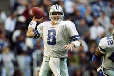 22 Nov Quarterback Troy Aikman of the Dallas Cowboys in action during the game against the Seattle Seahawks at the Texas Stadium in Irving, Texas. The Cowboys defeated the Seahawks Mandatory Credit: Stephen Dunn /Allsport Outfit Gym, Sport Outfit, Running Quotes, Sport Quotes, Sport Body, Sport Man, Texas Stadium, Troy Aikman, Postnatal Workout