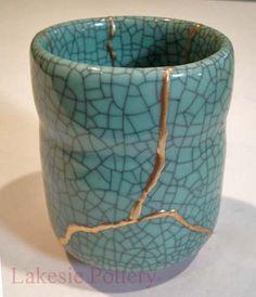 Kintsukuroi Pottery | Gallery - Kintsugi Art Gifts Available For Sale