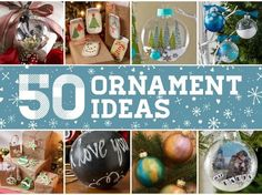 Make trimming the tree extra special this year with our top 50 DIY Christmas ornament ideas! Handmade ornaments are fun projects to make with friends and family or an ornament exchange and with these 50 ideas, you're sure to find some holiday cheer! Read on for ideas and tag your creations #plaidcrafts to share with us on social!