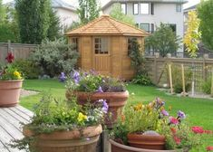 Pretty Corner Garden Shed House Exteriors And Gardens