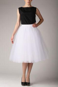 Hochzeitskleider - Tüllrock S031 - ein Designerstück von Fanfaronada bei DaWanda