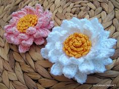 Crocheting: Multi Layered Corgeous Flower Tutorial