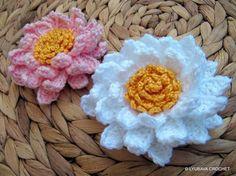 Crocheting: Multi Layered Corgeous Flower Tutorial