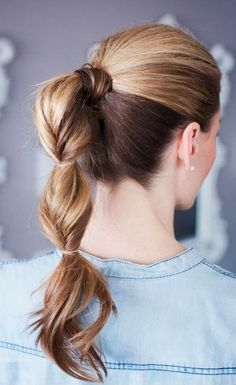 15 colas de caballo para reinventar tu look