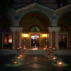 wedding trikala greece night