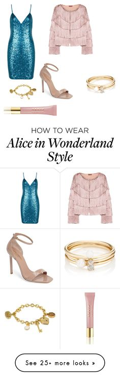 """# party night"" by unicornlover2017 on Polyvore featuring Missoni, Yves Saint Laurent, Loren Stewart, AERIN and Disney"