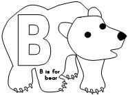 Printable Bear Cut And Paste Project Projects Are Availbable For The Whole Alphabet At Making Learning Fun