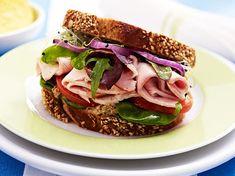 Putensandwich mit Senfcreme Rezept | LECKER
