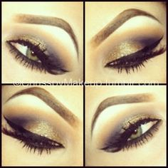 Wish I could do my make up like this