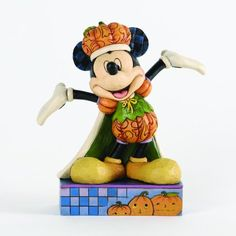 Amazon.com - Jim Shore for Enesco Disney Traditions Pumpkin King Mickey Mouse Figurine, 6-Inch - Collectible Figurines