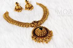 Antique south indian gold necklace