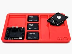 Oplab by Teenage Engineering is a musical experimental board allowing you to interconnect virtually any electronic musical instruments. It also comes with interesting sensors for triggering.