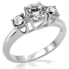 Trinity Round Engagement Ring    Get it at:  https://www.eternalsparkles.com/