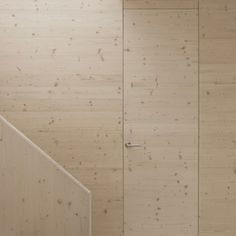 Home 07 by i29.  Knotty pine ply with lime wash finish. Similar to Grindley office interior.