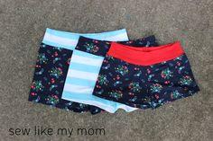 Riley Blake Designs Blog: Project Design Team Wednesday~Yoga Waistband Knit Shorts