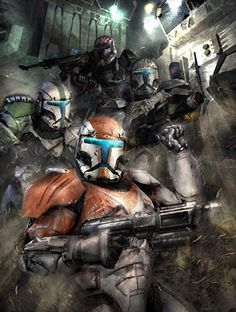 """Delta Squad   Who was your favorite Commando?  """"The squad objective remains: find Sun Fac, and eliminate him. I will be issuing further orders as you go. Good luck, commando.""""  CC-01/425 to RC-1138 """"Boss"""""""