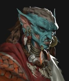 The Art Showcase — Water Druids by Mads Ahm Character Concept, Character Art, Character Design, Character Ideas, Fantasy Races, Fantasy Rpg, Dnd Characters, Fantasy Characters, Goblin Art