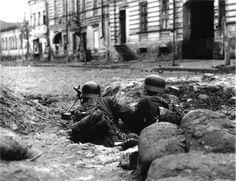 """Battle of Kharkov, Operation Barbarossa - 5 SS Panzer Grenadier Division, """"Viking"""", October 1941."""