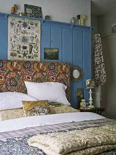 Forget its size, these small bedroom ideas will see your diminutive space come into its own. Learn how to use pattern and texture plus clever storage ideas. Country Living Uk, Country Living Magazine, Small Space Bedroom, Small Spaces, Small Bedrooms, Master Bedrooms, Diy Home Decor On A Budget, Cheap Home Decor, Bauhaus