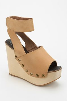 Jeffrey Campbell Amuck Peep-Toe Platform Wedge - Urban Outfitters