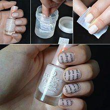 jak odbić druk na paznokciach - Szukaj w Google