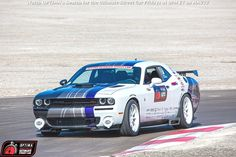 Dan Long's 2015 Dodge Challenger on the @bfgtires Hot Lap Challenge at the 2014 #OUSCI