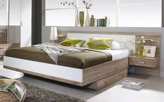 Pat Gandra 90/200 cm, 1 noptiera inclusa \ imagine indisponibila Mix Use Building, Ottoman, Living, Bed, Furniture, Home Decor, Bed Room, Decoration Home, Stream Bed