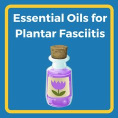 Have you ever tried to treat plantar fasciitis with essential oils? Click to learn more about this home remedy.