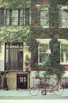 Greenwich Village - NYC by Gloria Garcia