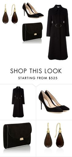 """Sin título #8348"" by ceciliaamuedo ❤ liked on Polyvore featuring STELLA McCARTNEY, Jimmy Choo, Mansur Gavriel and Effy Jewelry"
