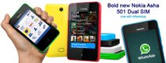 Last 5 seats, less than 5 Hrs. left, Rs. 600/- only for Nokia Asha 501. GRAB YOUR SEAT NOW!! http://www.dealite.in/Auction/Nokia-Asha-501/DEAL09112101  * Original, box packed and with 1 year manufacturer's warranty * Dual SIM (GSM + GSM) * 3-inch Touchscreen * 3.2 MP Primary Camera * Series 40 OS * FM Radio & Music Player * Wi-Fi & GPRS Connectivity * Expandable Memory Up to 32GB