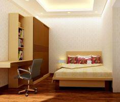 Những mẫu phòng ngủ đẹp cho không gian hẹp