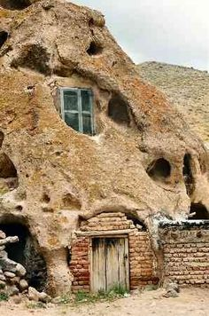Ancient house in Kandavan, Iran