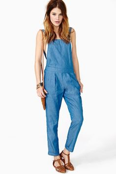 Sweet Sunday Overalls - RETRO? I should dig for my overalls from 1999