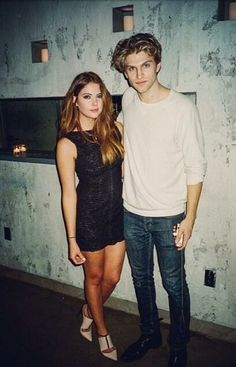 Ashley Benson and Keegan Allen