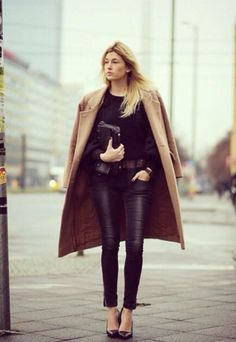 Street style inspiratie: 30x de camel coat - Mode - Inspiratie - Style Today