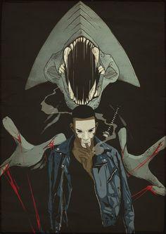 Nézd meg Nikon legfrissebb rajzait szörnyeket gyilkolászó fekete srácokról! - 14. kép