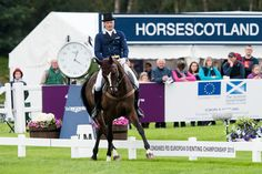 Dressage at 2015 European Eventing Championship, held at Blair Castle in Scotland.