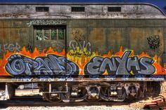 Train Graffiti 2 by Pachelbel Canon, via Flickr