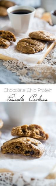 Gluten Free Chocolate Chip Cookies - Naturally sweetened with banana and made with a secret ingredient so they're high protein.