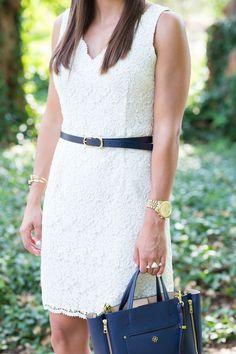 Little White Dress // A Southern Drawl
