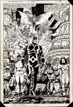 The Marvel Comics of the 1980s- 1982 - Fantastic Four #240 by John Byrne