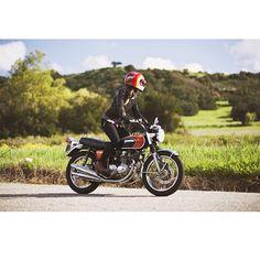 Just a beautiful shot #hondacb #customBuild #cafeRacerClub #vintageMotorcycles great bike cierrarrose