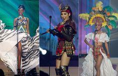 Desiré Cordero a lo Isabel la Católica, una 'Reina de reinas' en Miss Universo