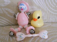 vintage baby toys